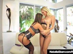 Bang Buddies Natalia Starr & August Ames Pussy Lick & Fuck!