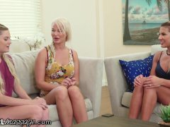 Allgirlmassage Tutor & Stepmom Help Teen Pass Massage School!