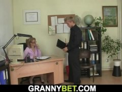 Hot Office Mature Boss Sucks And Rides His Big Meat