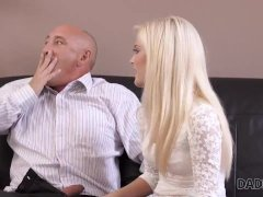 Daddy4k. Blonde Cutie Wants To Have Hot Sex With Experience Aged Man