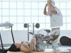 Private- Round Rump Latina Sheila Ortega Gets Pounded!