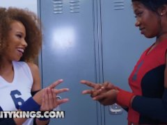 Fit Lebony Lezzies Skyler Nicole & Cecilia Lion Plow - Reality Kings