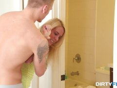 Dirty Flix - Cadence Lux - Cock is a lesson for step-sis