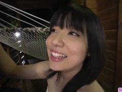 Airi Minami sucks the life out of her man´s erect coc - More at Slurpjp com