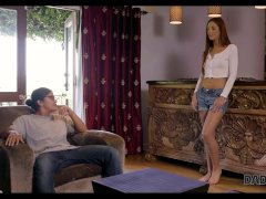 DADDY4K. Alison comes to talk about money to her boys naughty father