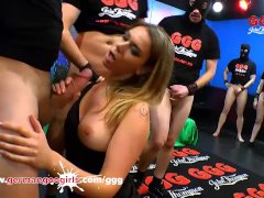 Ani Black Fox in blowbang party dringing cumshots Germangoogirls