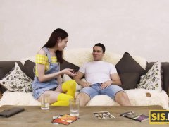SIS. PORN. Stepsiblings do tasks for money till all escalates into sex
