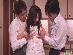 Chihiro Kitagawa Handles Many Dicks Without Fuc - More at Japanesemamas com
