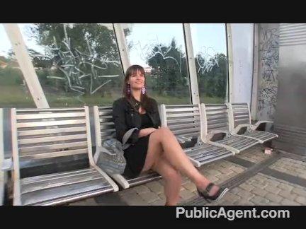 PUBLICAGENT Rita Argiles Bounces Her Boobs On Cock