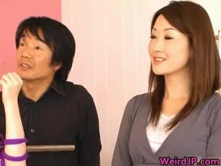 Супер возбуждённый японский детки в экстрим