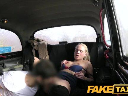 Поддельные такси Секс сумасшедший чешский леди хочет член
