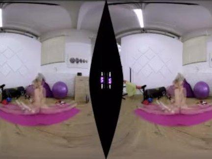 Алиша фокс-утренняя киска тренировки в тренажерном зале