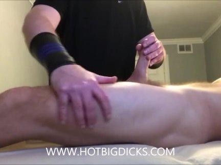 Большой член массаж