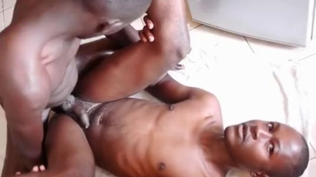 Black twinks Marvin and Chris on assfucking
