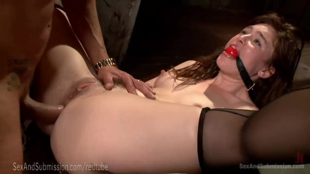 Dominated Dripping Holes