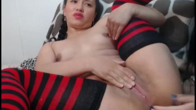 Horny Brunette Gets Anal Fisted
