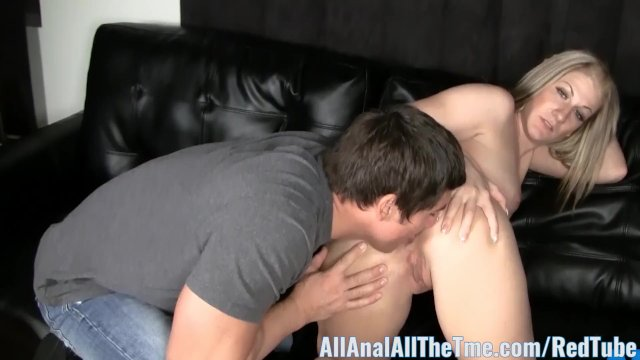 Cutie Hailey Benz Gets Ass Spread and Licked at AllAnal!