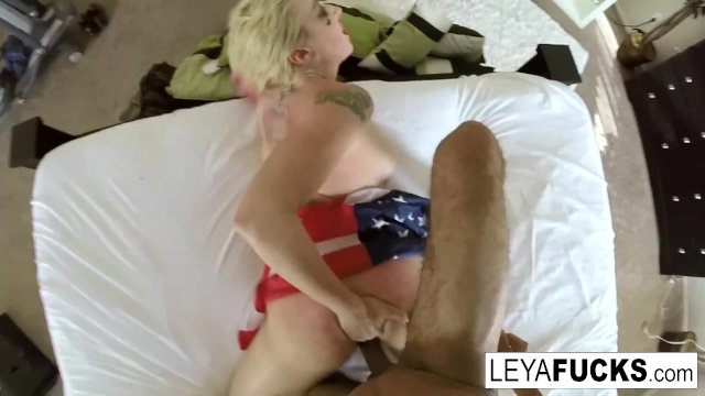 Leya Falcon takes a BBC in every hole