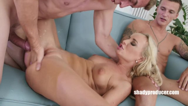ShadyProducer - Porn diva disregards her amateur bf and fucks with Steve Q