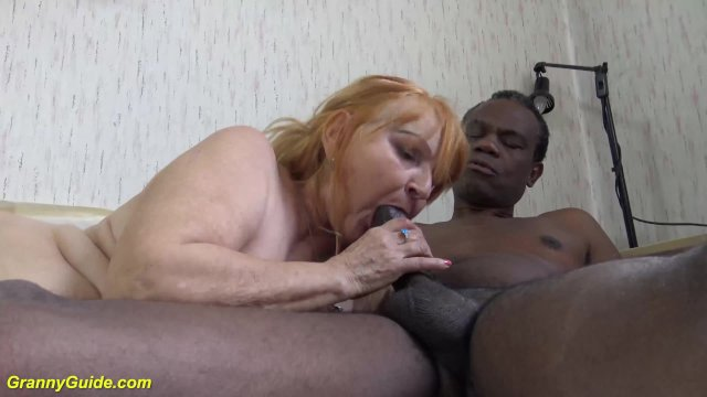 77 years old mom fucked by black stepson
