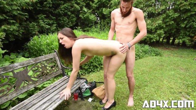 AD4X Sexe a l exterieur pour les vacances d ete