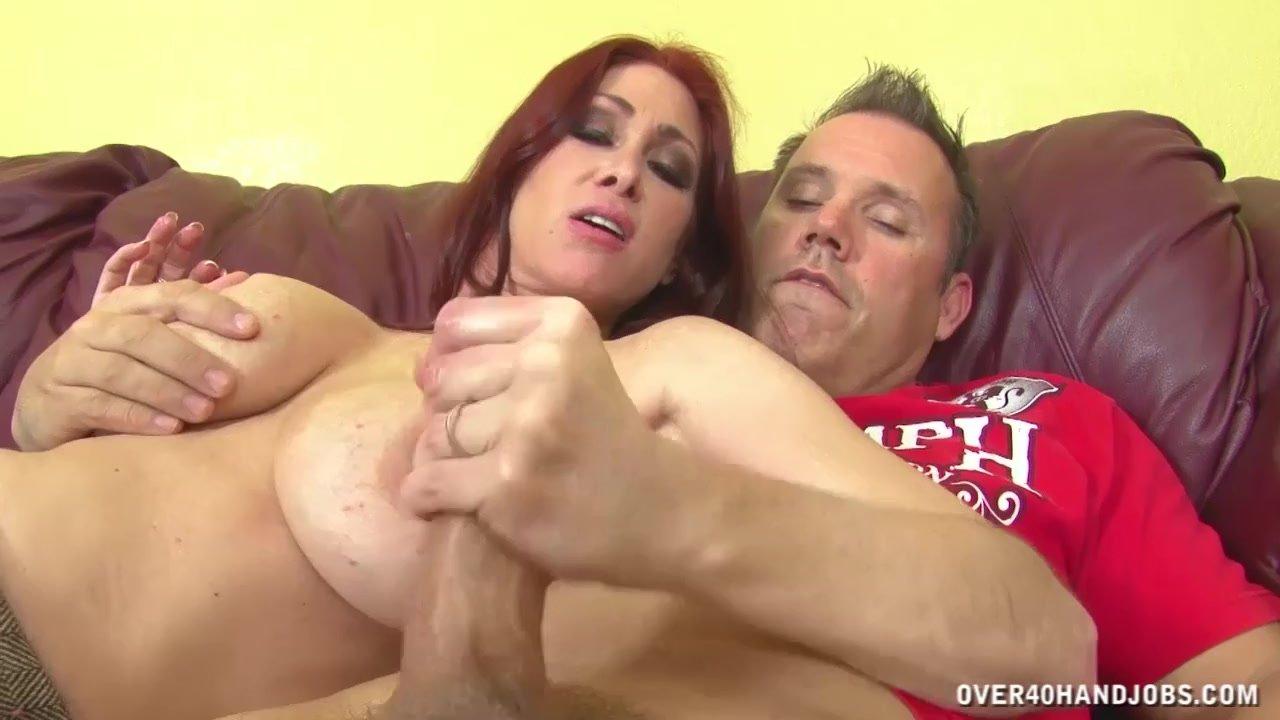 Busty Redhead Milf Jerks Off A Boner - Redtube-2678