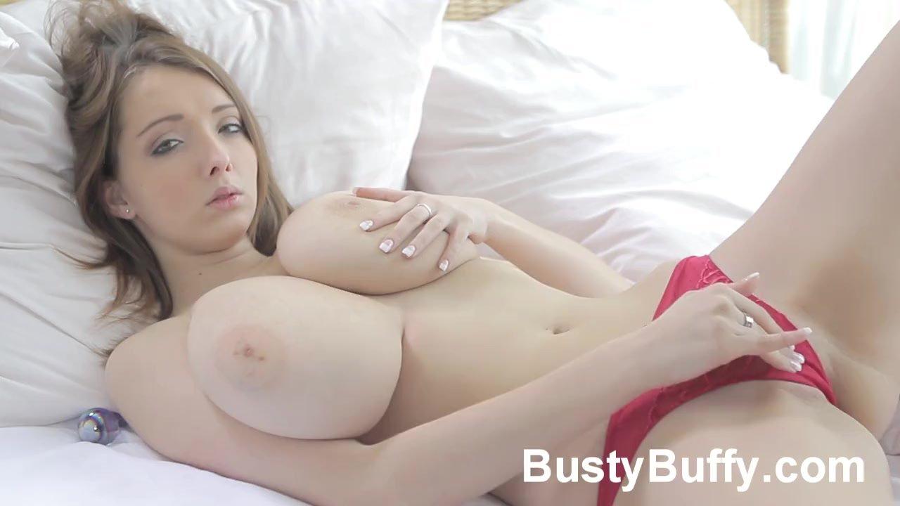 Big boob mature masturbates