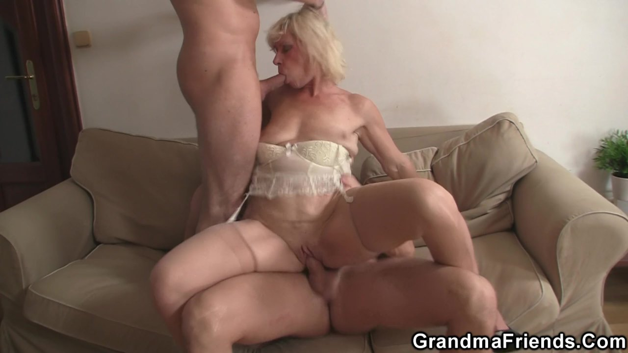 double penetration oldest movies Granny