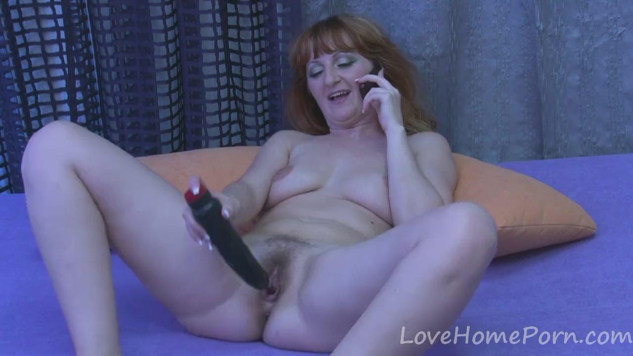 Cum on her clit