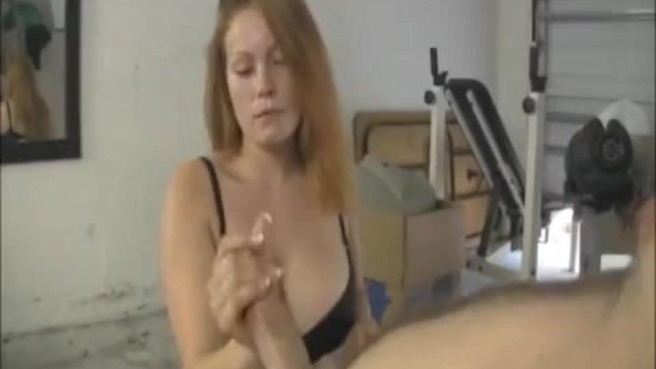 redhead handjob Busty