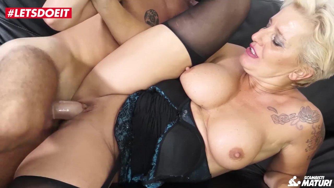 Abuelas En Lenceria Porno letsdoeit - la abuela italiana madura obtiene sexo duro en el casting porno