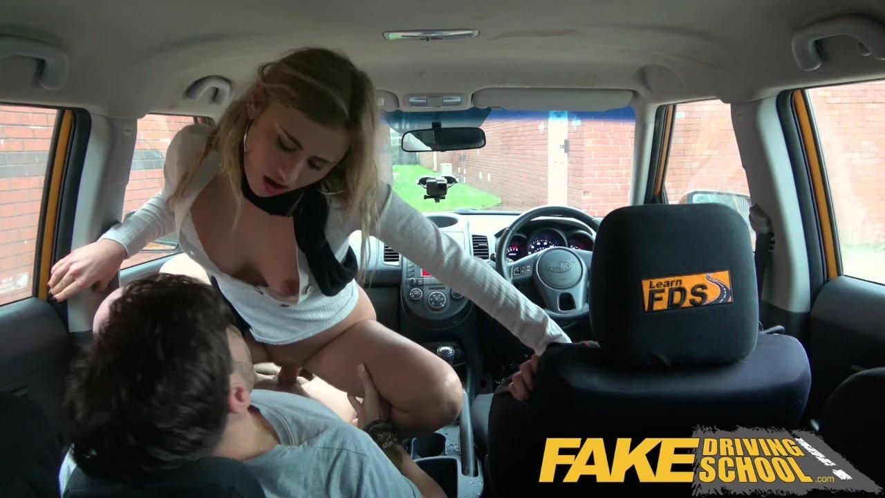 Fake Lesbian Driving School