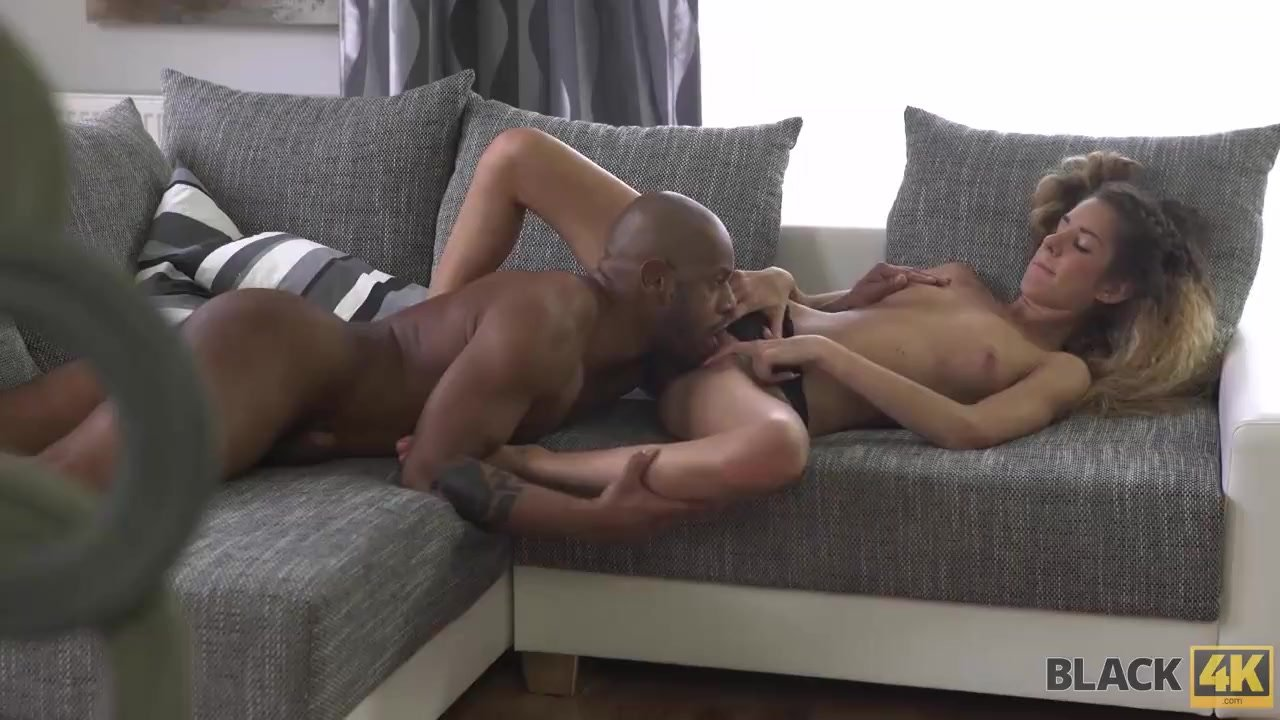 Each inch of huge dick brings young babe a lot of excitement