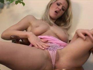 Young lady Jane masturbates