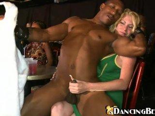 Ebony stripper on girlparty
