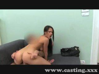 Sexy Spanish amateur fucks in casting
