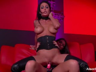 Strap-on action with Alison Tyler