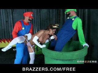 Mario and luigi parody double stuf – brazzers