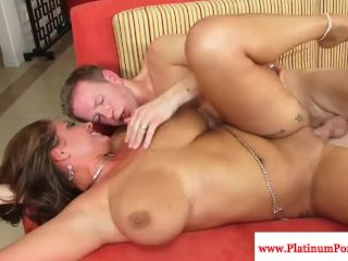 Big tits Eva Notty gets her pussy fucked