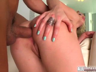 All Internal – Army chick gets creampie
