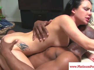 Katie St.Ives gets a mouthful of cum