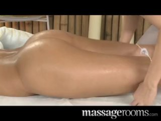 Massage Rooms – Two lesbians with hot bodies