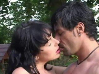 Tina gives a romantic blowjob