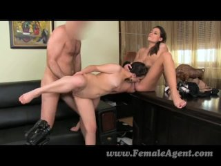 FemaleAgent – Sexy anal creampie time