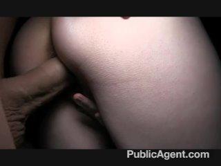 PublicAgent – Short haired blonde has sex