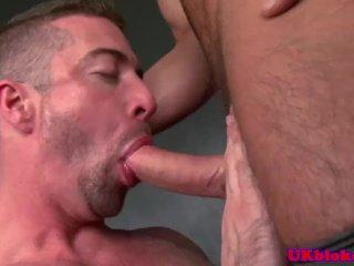 Euro brit bum bandit queer anal sex