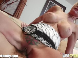 Mother Tests Dick Out for Horny Step-Daughter
