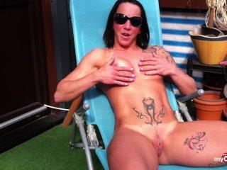 Sporty tattooed german loves to fuck