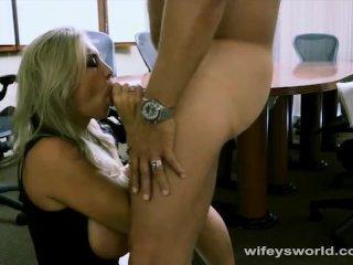 Wifey Swallows To Keep Her Job