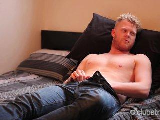 Amateur Straight Guy Cooper Masturbating